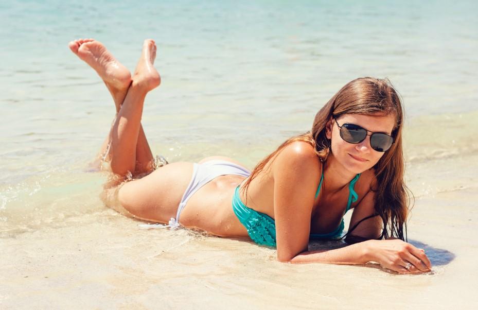 Peeling dopo lepilazione in zona bikini